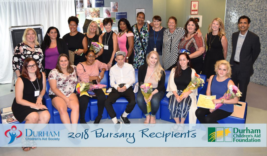 Bursary Recipients, 2018